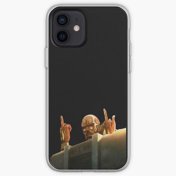 Titán Colosal ataque a titanes (SnK) Diseño Drole Funda blanda para iPhone