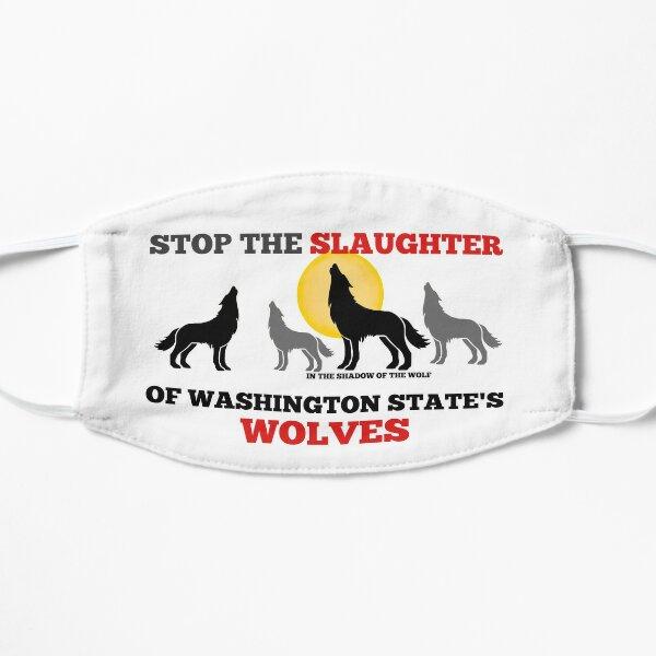 Save WA Wolves  Mask