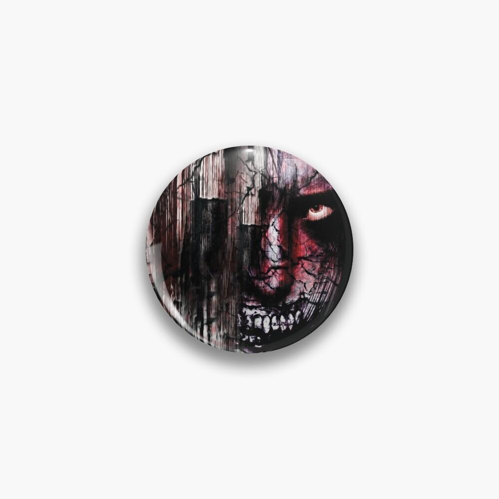 Grotesque Dark Monster Pin