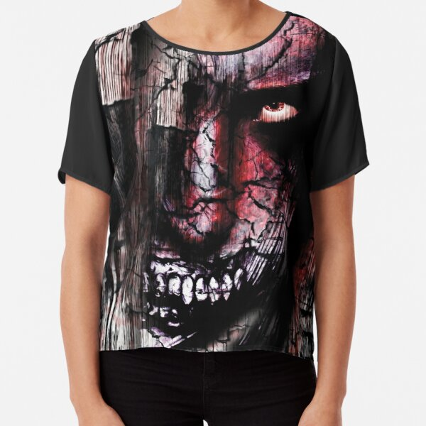 Grotesque Dark Monster Chiffon Top