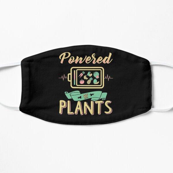Angetrieben von Pflanzen Flache Maske