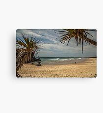 Dreamtime Beach Fingal Head Canvas Print