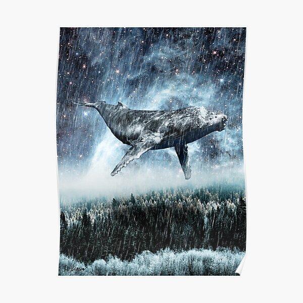 Baleines volantes Poster