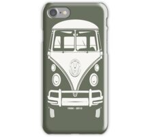 VW BUS, 1950-2013  iPhone Case/Skin