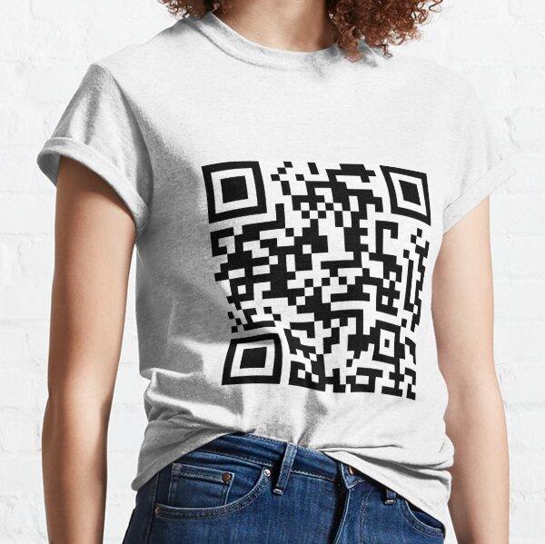Skyrim Theme Song QR Code Classic T-Shirt