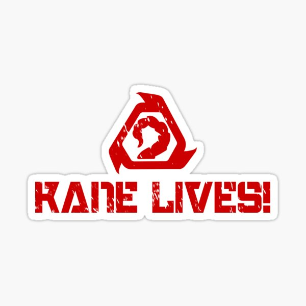 Kane Lives! - Command and Conquer remastered Sticker
