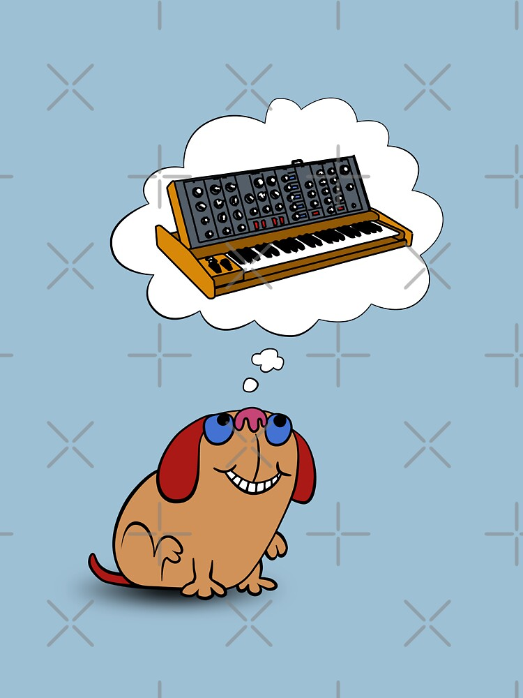 The Moog thinks of Moog | Unisex T-Shirt