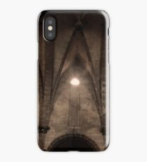 and the lord said let there be light iPhone Case/Skin