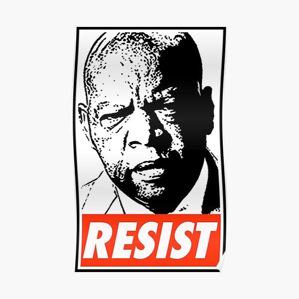 John Lewis Resist Poster