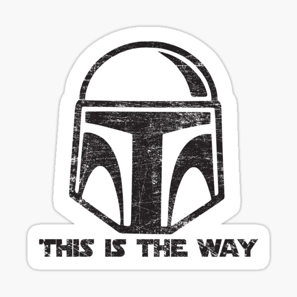 this is the way Sticker