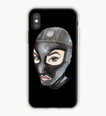Latex Hood Babe iPhone Case