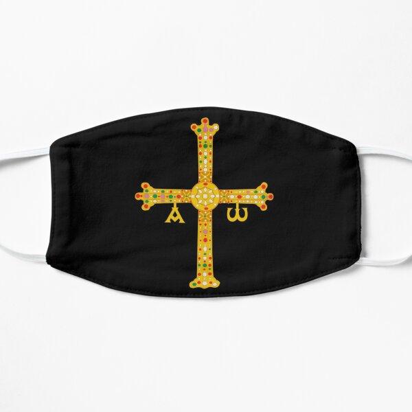 Cruz de la Victoria o Cruz de Asturias Mascarilla plana