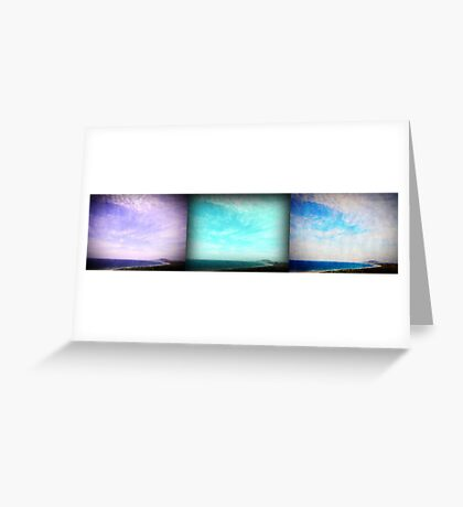 iPhoneography: Gerroa Triptych Greeting Card