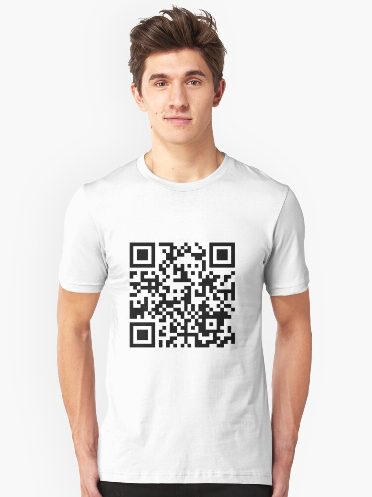 Hello There Qr Code T Shirt By Manu142 Redbubble