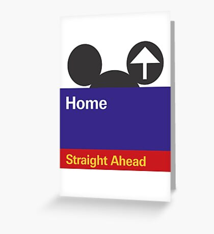 Goin' Home Greeting Card