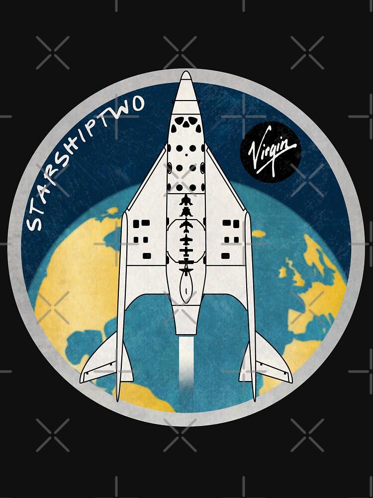 StarShipTwo (Virgin) Badge by BGALAXY