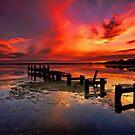 Gorokan Jetty Sunrise by Arfan Habib