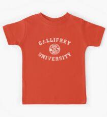 Gallifrey University Kids Clothes