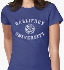 Gallifrey University Womens Fitted T-Shirt