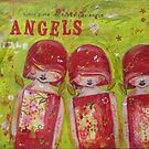 Little Girls are Little Angels by Barbara Cannon  ART.. AKA Barbieville