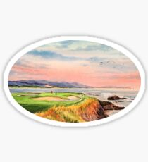 Pebble Beach Golf Course  Sticker