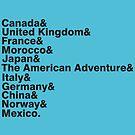 The World Showcase by NevermoreShirts