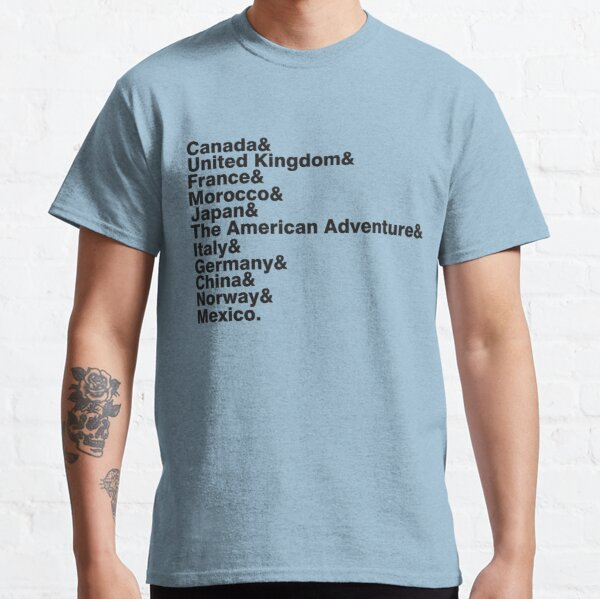 The World Showcase Classic T-Shirt