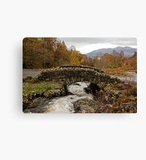 Ashness bridge, Lake district Canvas Print