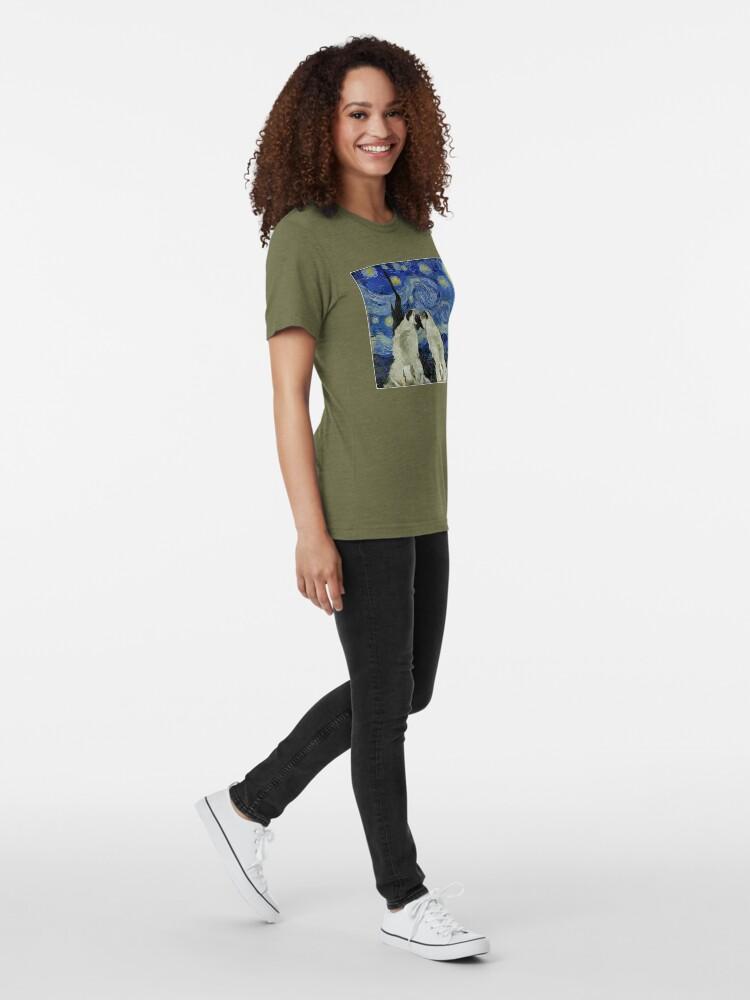 Alternative Ansicht von Sternennacht Pugs Vintage T-Shirt