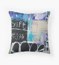 Post-it note,note Throw Pillow