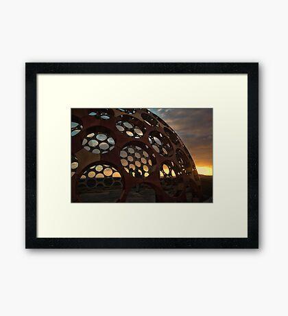 Sunrise Dome Framed Print