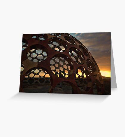 Sunrise Dome Greeting Card