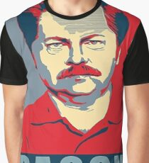 Ron hope swanson  Graphic T-Shirt