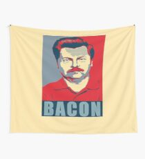 Ron hope swanson  Wall Tapestry