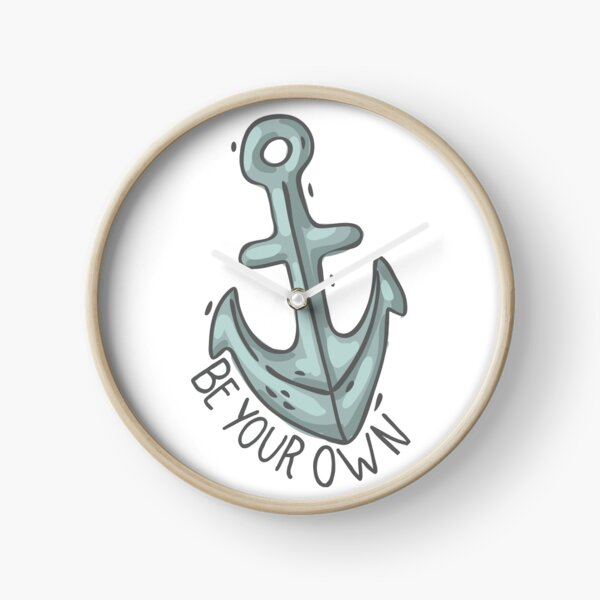 Be your own anchor - Teen Wolf Clock