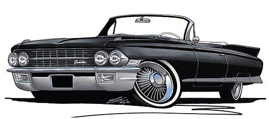 Cadillac Eldorado Biarritz (1962) Black by yeomanscarart