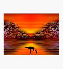 Sunset 9 Photographic Print