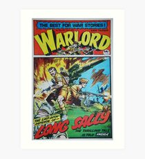 Warlord - Long Sally  Art Print