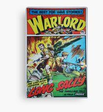 Warlord - Long Sally  Canvas Print