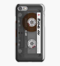 Audio Cassette Tape iPhone Case/Skin