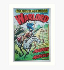Warlord - Masters of the Mongols Art Print