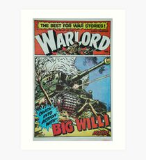 Warlord - Big Willi Art Print
