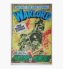 Warlord - The Terror Express Photographic Print