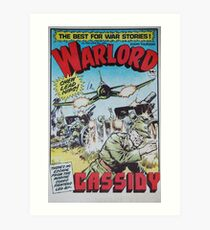 Warlord - Cassidy Art Print
