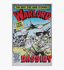 Warlord - Cassidy Photographic Print