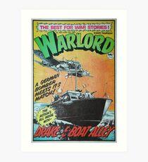 Warlord - Drake 3 Art Print