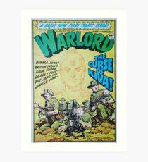 Warlord - The Curse of Kiva Art Print