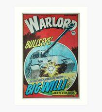 Warlord - Bullseye Art Print