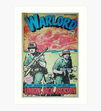 Warlord - Union Jack Jackson Art Print