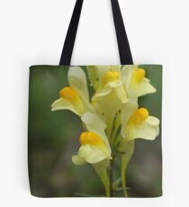 Yellow Toadflax Tote Bag